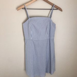 URBAN OUTFITTERS pinstripe sundress